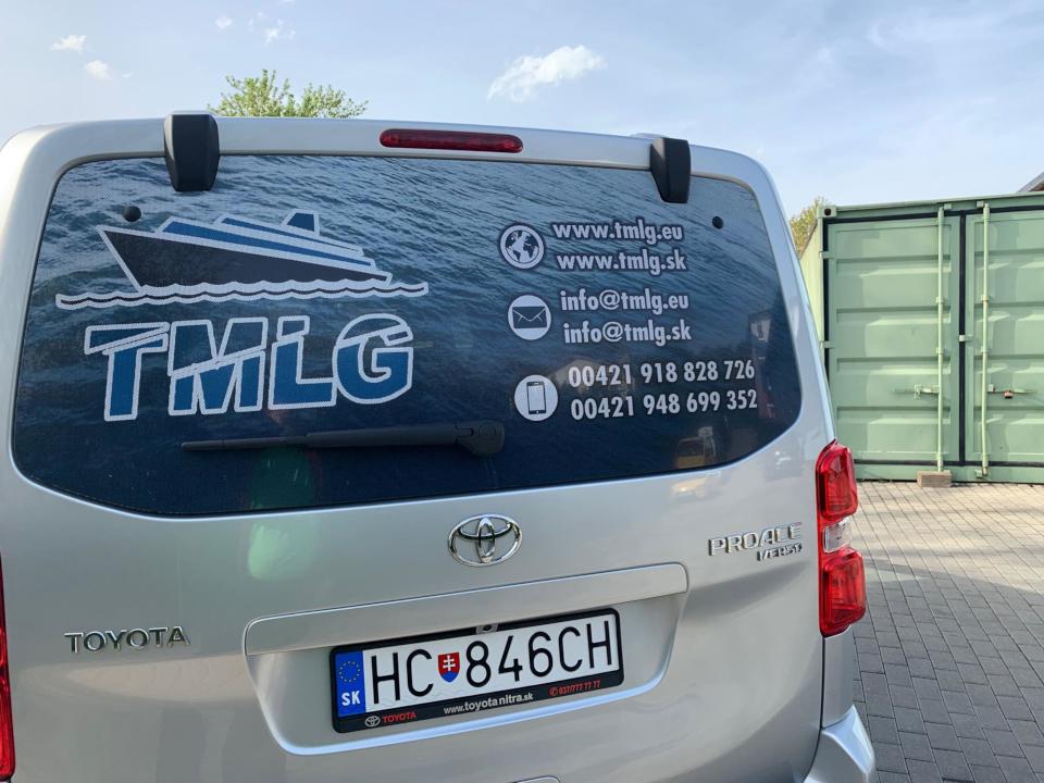 TMLG - grafický polep